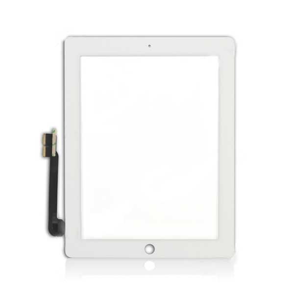Тачскрин (сенсорный экран) для Apple iPad 4 (A1458, A1459, A1460) - белый