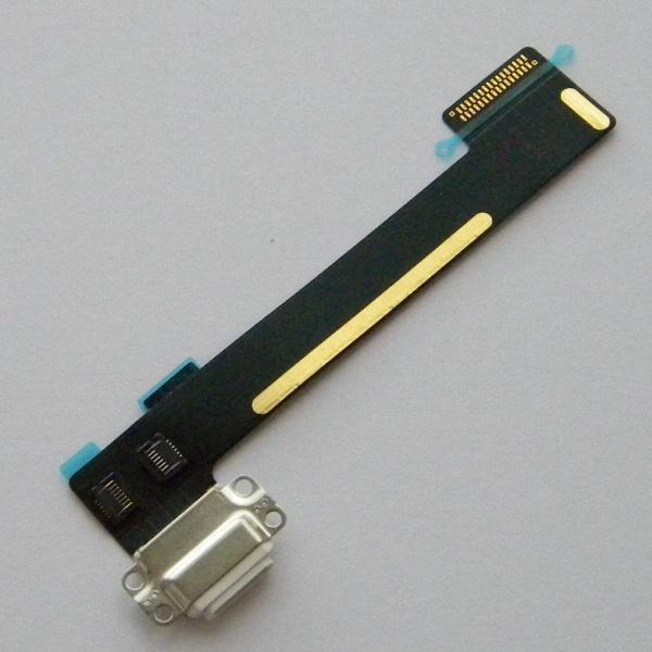 Шлейф с разъемом зарядки и синхронизации для Apple iPad Mini 4 (A1550, A1538) - белый - Оригинал