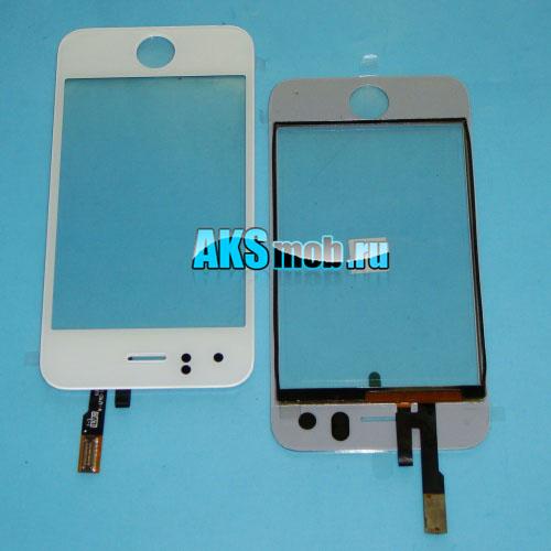 Тачскрин и стекло для Apple iPhone 3G Белый