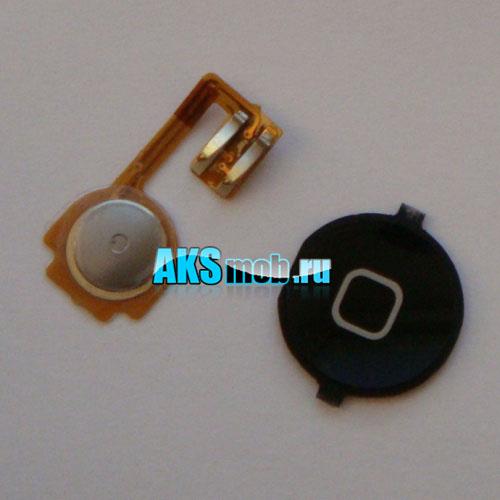 Кнопка Home белая в сборе для Apple iPhone 3GS Оригинал