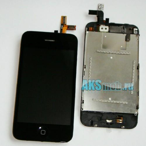 Дисплей в сборе с тачскрином для Apple iPhone 3GS Оригинал