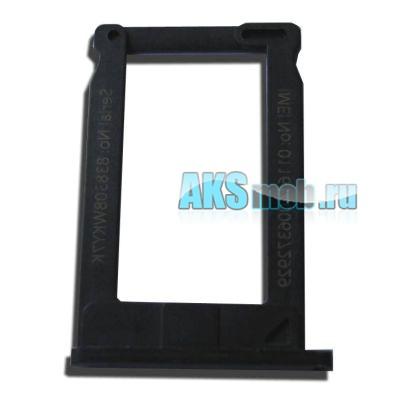 Лоток SIM черный для Apple iPhone 3GS