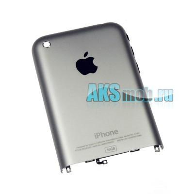 Задняя крышка для iPhone 2G серебро - 8 Gb