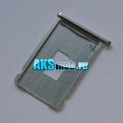 Лоток SIM карты металлический для Apple iPhone 2G Оригинал