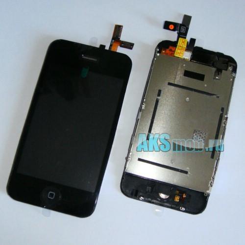 Дисплейный модуль в сборе (дисплей, тачскрин, компоненты) для Apple iPhone 3G Оригинал
