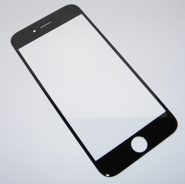 Стекло сапфировое для Apple iPhone 6 (A1549, A1586) - черное