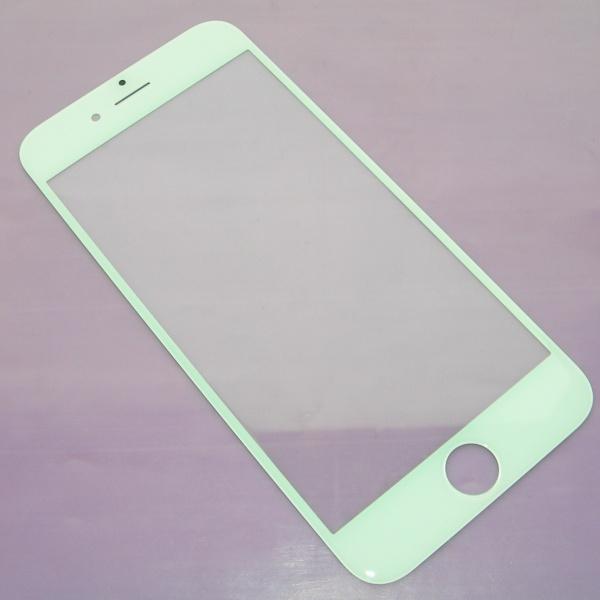 Стекло сапфировое для Apple iPhone 6 (A1549, A1586) - белое