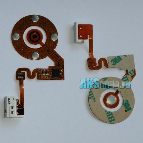 Шлейф Turnplate с аудио разъемом для Apple iPod Nano 2 (A1199) Оригинал