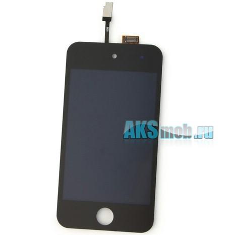 Дисплейный модуль для Apple iPod Touch 4g (A1367) в сборе с тачскрином (черный)