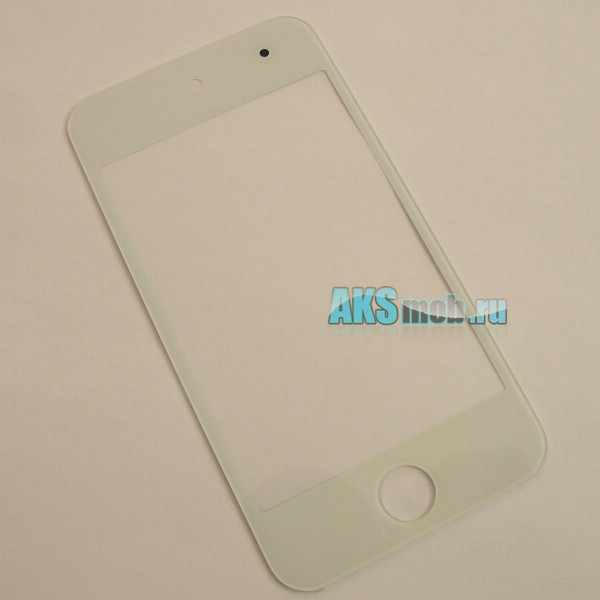 Стекло для Apple iPod Touch 4g (A1367) - белое