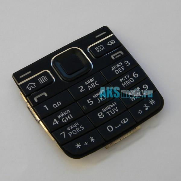 Клавиатура для Nokia E52 - черная - Оригинал