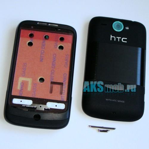 Корпус HTC A3333 Wildfire черный (в сборе, кнопки) Оригинал