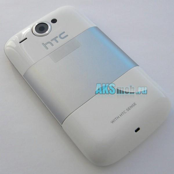 Корпус HTC A3333 Wildfire белый (в сборе, кнопки) Оригинал