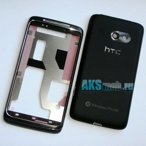 Корпус HTC 7 Surround T8788 черный (в сборе) Оригинал