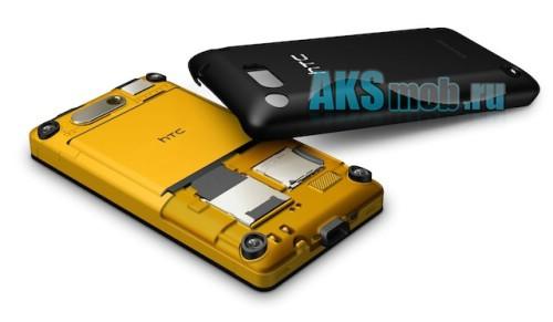 Корпус HTC T5555 HD Mini черный (в сборе, кнопки) Оригинал