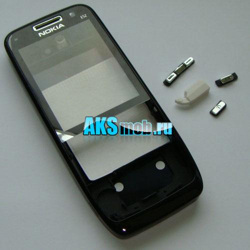 Корпус для Nokia E52 черный