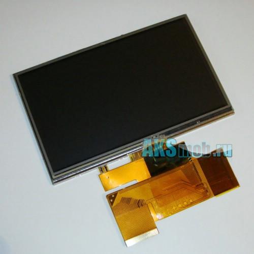 Дисплей (LCD Экран) для GPS навигатора 5 дюймов с тачскрином (A050FW02)