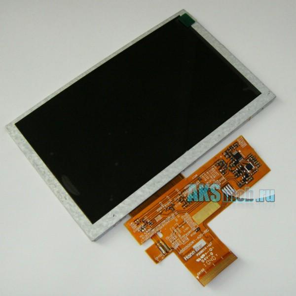Дисплей (LCD Экран) для GPS навигатора 5 дюймов версии HD