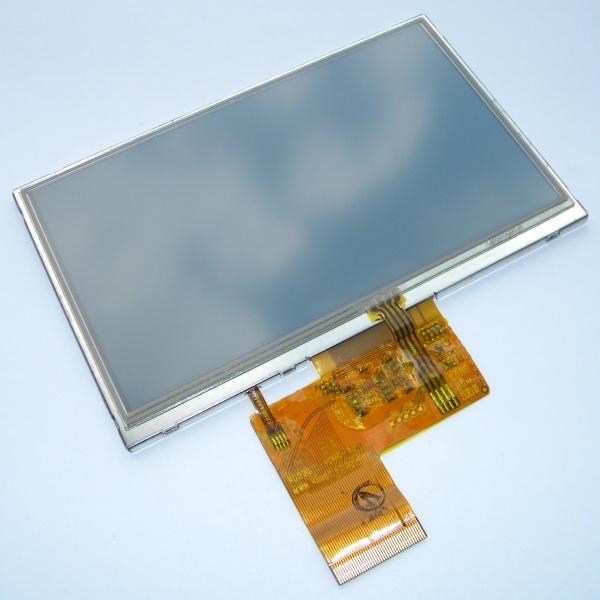 Дисплей (LCD Экран) для GPS навигатора 5 дюймов тип 6 - KD50G10-40NC-B3 с тачскрином