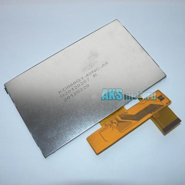 Дисплей (LCD Экран) для GPS навигаторов и автомагнитол 6 дюймов - KD060G1-40NC для Texet TN-800 / Ritmix RGP-685 / Explay PN-965