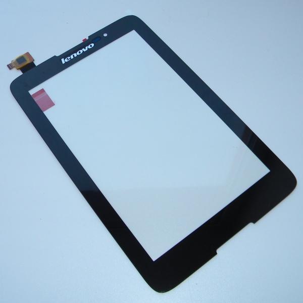 Тачскрин (сенсорная панель) для Lenovo IdeaTab A3500 / A7-50 черный - touch screen - Оригинал