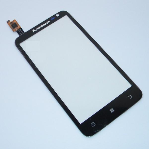 Тачскрин для Lenovo IdeaPhone S720 - сенсорное стекло - черный