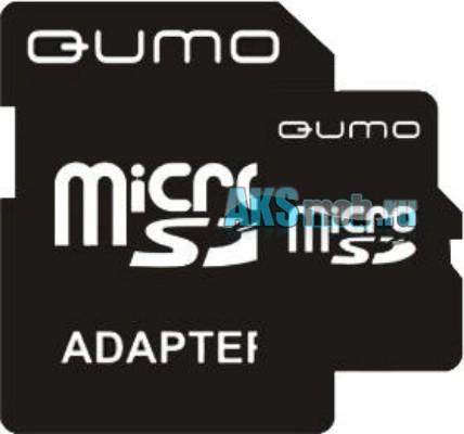 Карта памяти MicroSD 2Gb c SD адаптером