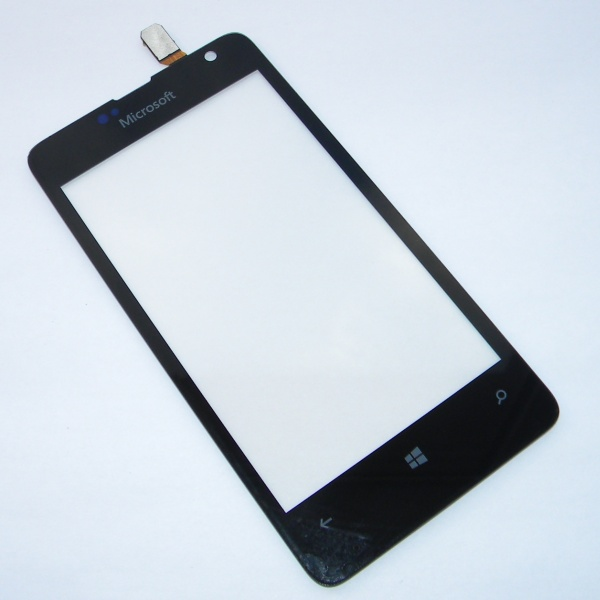 Тачскрин (Сенсорное стекло) для телефона Microsoft Lumia 430 Dual SIM