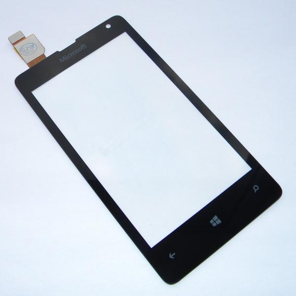 Тачскрин (Сенсорное стекло) для телефона Microsoft Lumia 532 Dual SIM