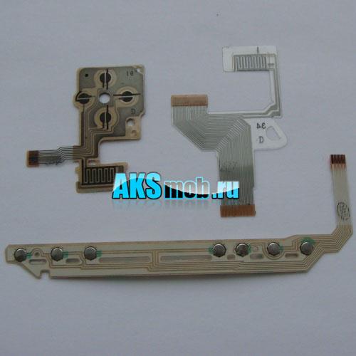 Набор - левая плата, передняя плата и правый шлейф для PSP Fat серии 10xx