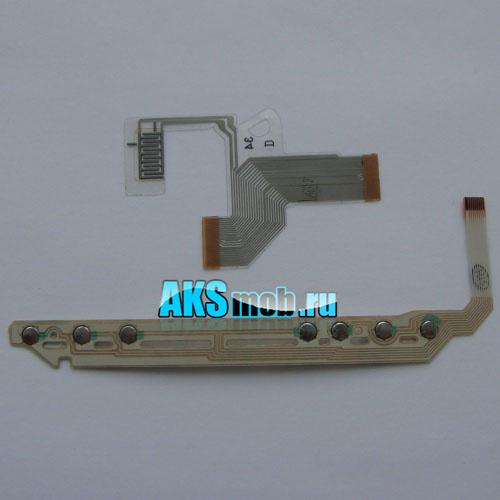 Набор - передняя плата кнопок и правый шлейф для PSP Fat серии 10xx