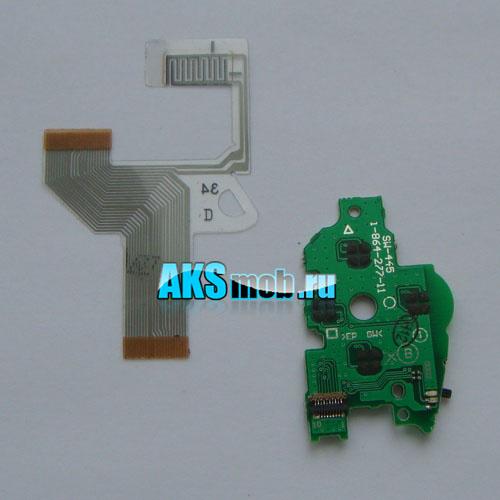 Набор - правая плата кнопок и правый шлейф для PSP Fat серии 10xx