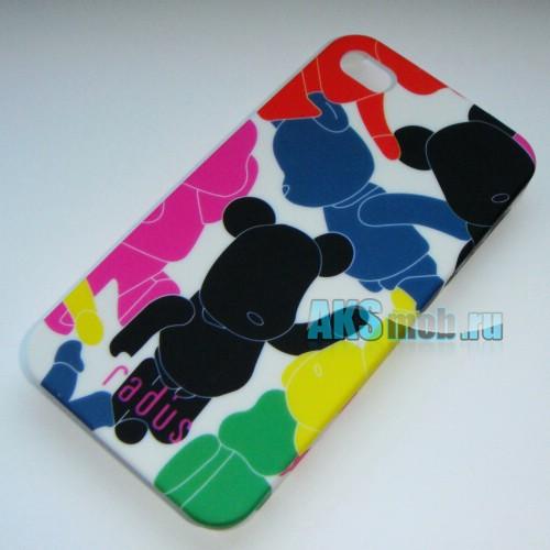 Бампер - накладка Moshi iGlaze для iPhone 4/4S с рисунком N1