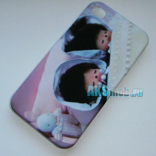 Бампер - накладка Moshi iGlaze для iPhone 4/4S с рисунком N2