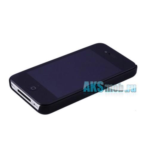 Бампер - накладка Moshi для iPhone 4/4S черный