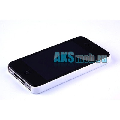Бампер - накладка Moshi для iPhone 4/4S белый