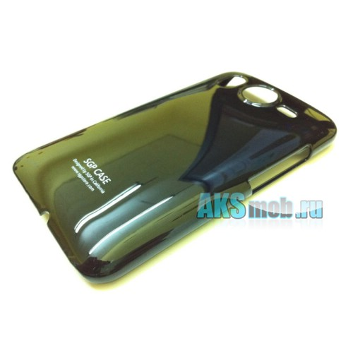 Бампер - накладка SGP для HTC A9191 Desire HD черный