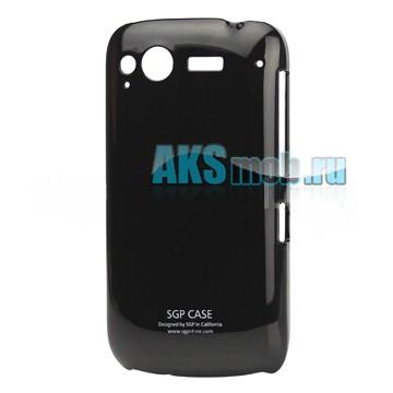 Бампер - накладка SGP для HTC S510E Desire S черный