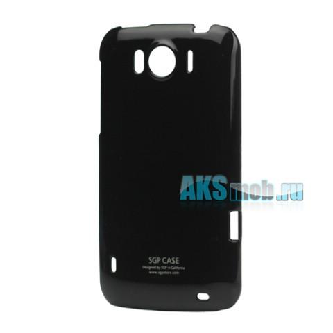 Бампер - накладка SGP для HTC Sensation XL черный