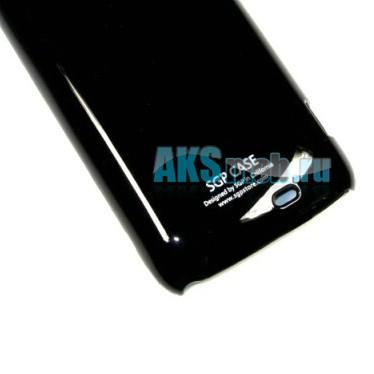 Бампер - накладка SGP для HTC z710e Sensation черный