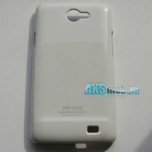 Бампер - накладка SGP для Samsung Galaxy R i9103 белый