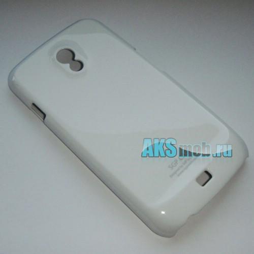 Бампер - накладка SGP для Samsung Galaxy Nexus i9250 белый