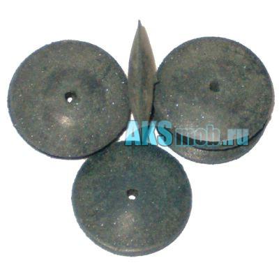 Эластичные образивные (шлифовальные) круги (конусообразная) НАБОР из 10 ШТУК