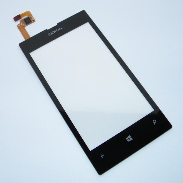 Тачскрин (Сенсорное стекло) для Nokia Lumia 525 - touch screen - черный