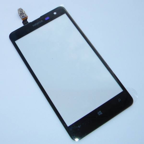 Тачскрин (Сенсорное стекло) для Nokia Lumia 625 - touch screen