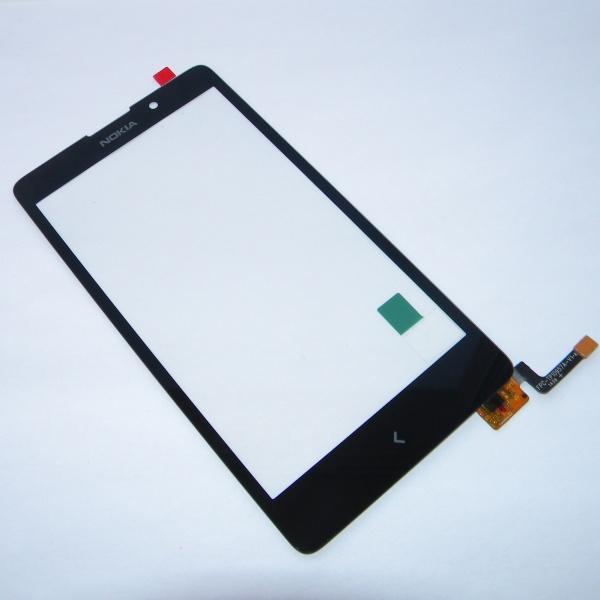 Тачскрин (Сенсорное стекло) для Nokia XL Dual sim (RM-1030 / RM-1042) - touch screen