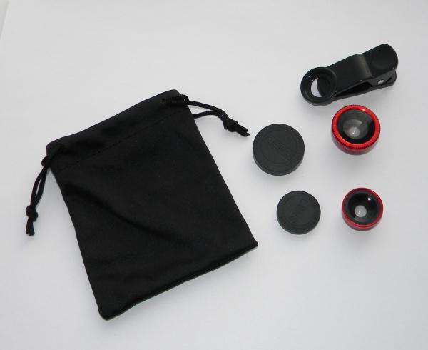 Набор объективов для смартфонов / iPhone / iPad