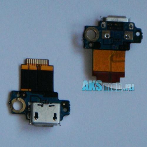 Шлейф с разъемом зарядки и синхронизации HTC S710e Incredible S / PG32130