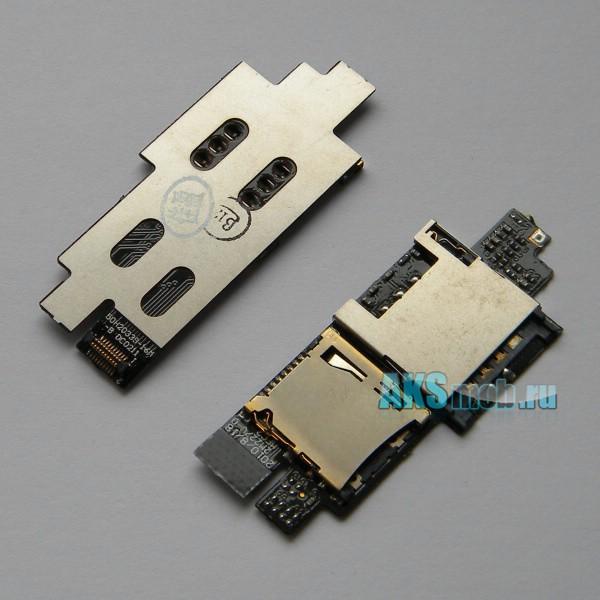 Плата sim карты, карты памяти для HTC A9191 Desire HD Оригинал
