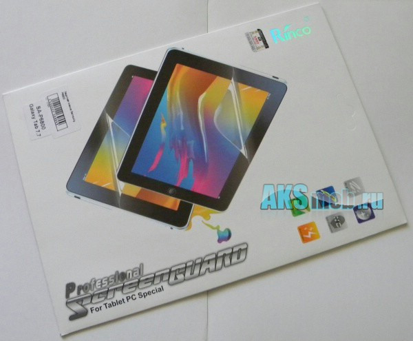Защитная пленка для планшета Samsung Galaxy Tab 7.7 P6800 - на экран